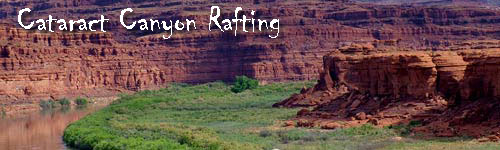Cataract Canyon Rafting by Oarboat