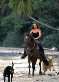 Horse riding vacations in Costa Rica