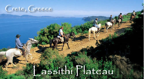 Lassithi Plateau Ride on Crete with Hidden Trails