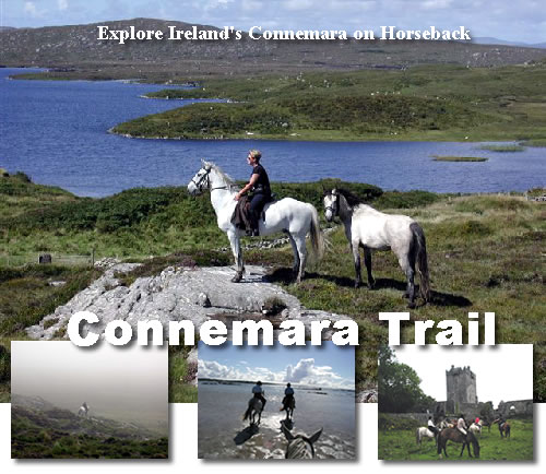 On horseback in the Connemara of Ireland with Hidden Trails