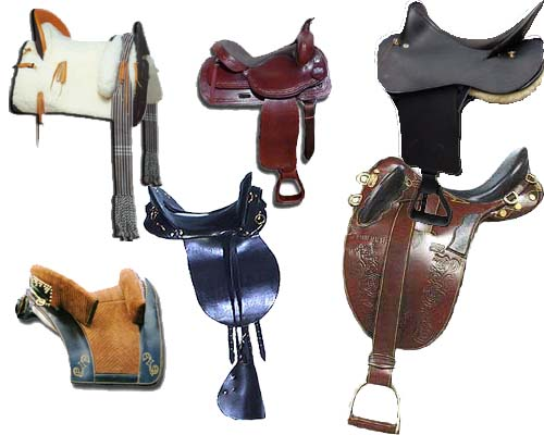 horse tack a listing of differenet tack used on horse saddle 500x400