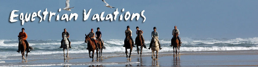 Horseback riding holidays, trips, tours and vacation with Hiddentrails.
