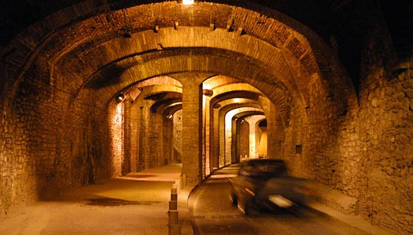 Tunnel roads at Guanajuato