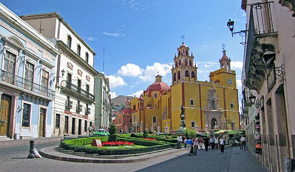 Church at Guanajuato