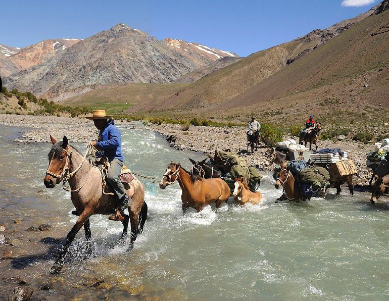Crossing the Andes on Horseback with Hidden Trails