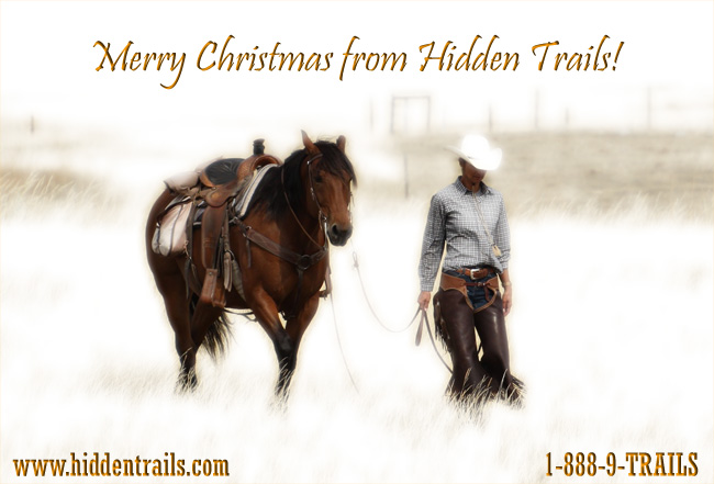 2013 Merry Christmas from Hidden Trails!