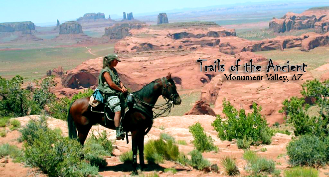 On horseback in Arizona - Trails of the Ancient Ride