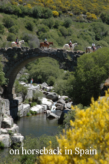 on horseback in Central Spain with Hidden Trails