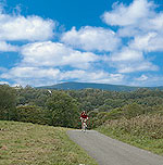 Guided and self guided cycling tours in Wales