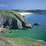 Barfundle Beach Pembrokeshire